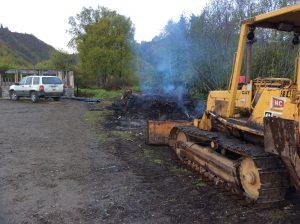 RV Sites 2 & 3 clearing underway