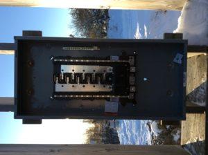 Electrical 200 amp RV Sites sub panel