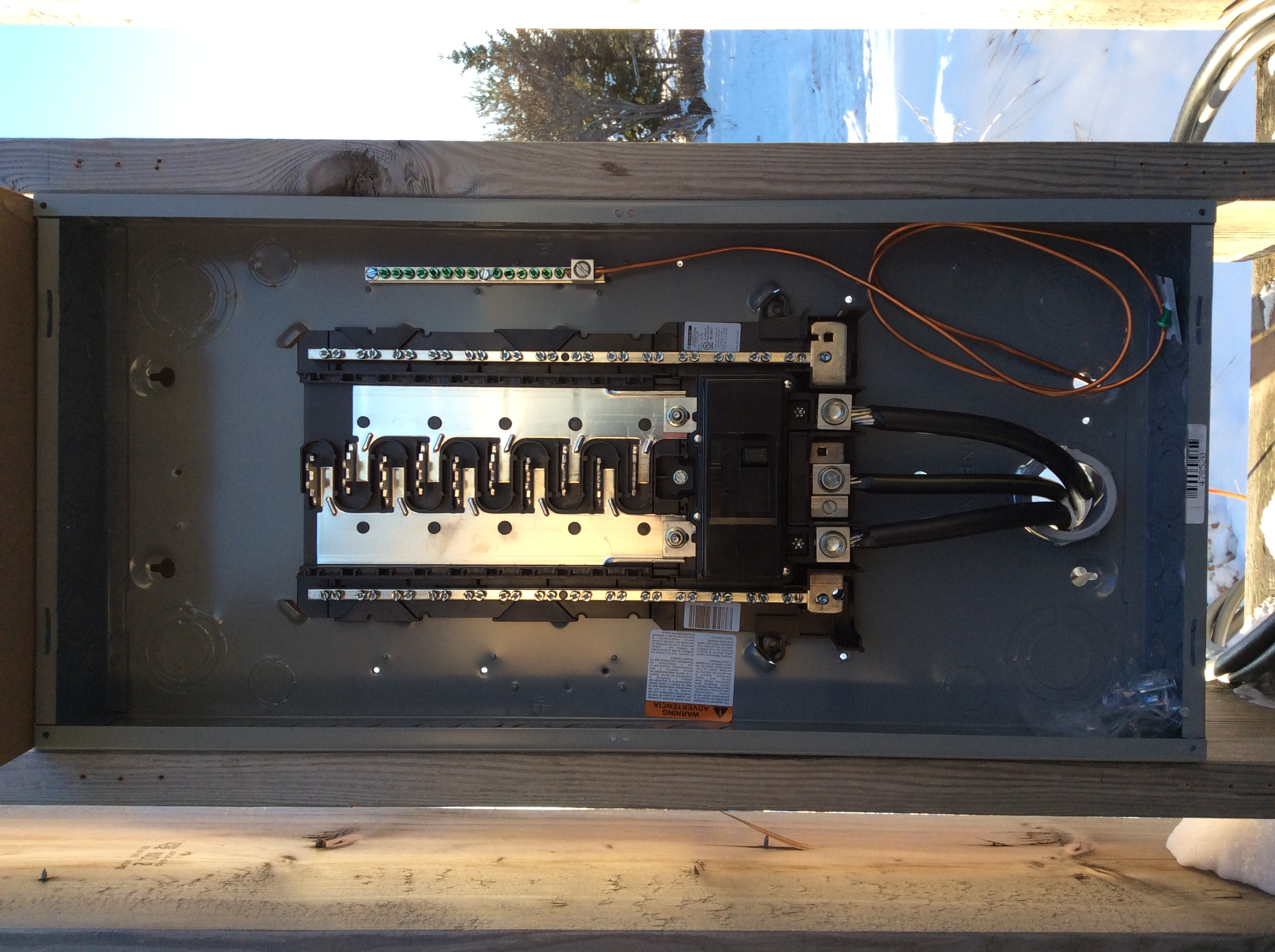 Electrical 200 Amp Rv Sites Sub Panel In Homer Alaska Wiring