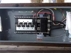 Electrical 200 amp RV Sites sub panel