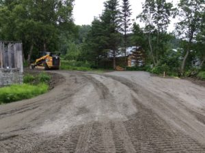 RV Site roads & pads getting a 1-1/2″ cap