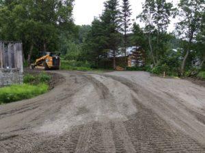 """RV Site roads & pads getting a 1-1/2"""" cap"""