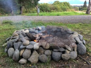 Fire Pit Grill