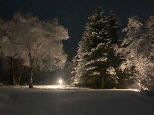 Winter Wonderland at RV Sites in Homer