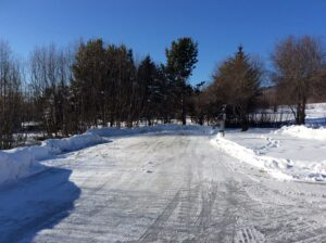 Beautiful Winter Day at RV Sites in Homer
